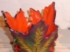 Teelichter aus Ahornblättern