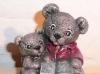 Spieluhr 2 Teddys mit Buch