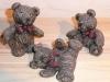 Bären sitzend, liegend und stehend