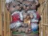 Spieluhr mit Weihnachtsteddys