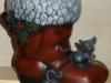 Weihnachtsstiefel mit Mäusen